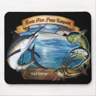 Costa Rica Fishing Champion (your name) Mouse Pad