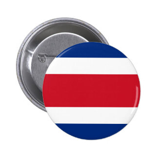 Costa Rica Flag 2 Inch Round Button