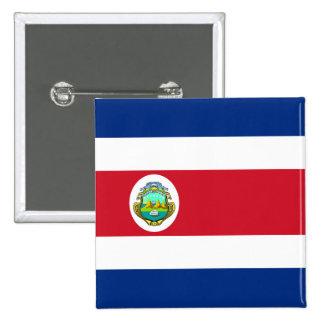 Costa Rica Flag Button