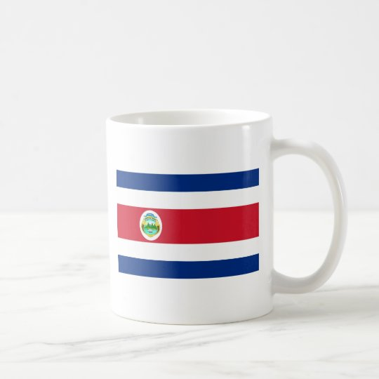 Costa Rica Flag Coffee Mug