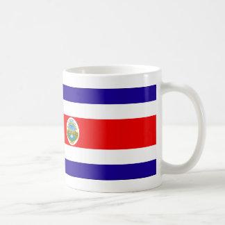 Costa Rica Flag Coffee Mug