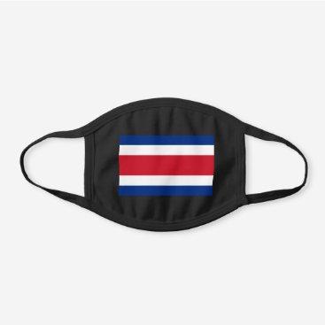 Costa Rica Flag Cotton Face Mask