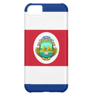 Costa Rica Flag Cover For iPhone 5C