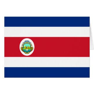 Costa Rica Flag CR Card