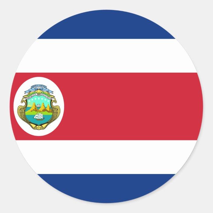 Resultado de imagen de costa rica circle flag