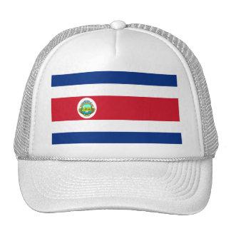 Costa Rica Flag CR Mesh Hats