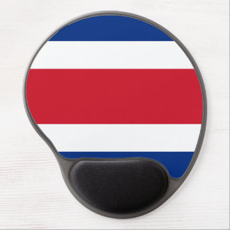 Costa Rica Flag Gel Mouse Pad