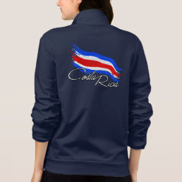 Costa Rica Flag Jacket