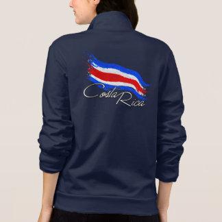 Costa Rica Flag Jacket