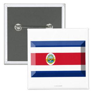 Costa Rica Flag Jewel Pins