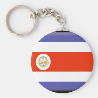 Costa Rica Flag Keychains