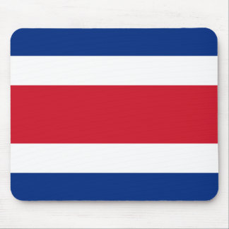 Costa Rica Flag Mouse Pad
