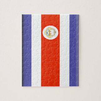 Costa Rica Flag Puzzles