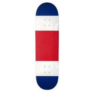 Costa Rica Flag Skateboard Deck