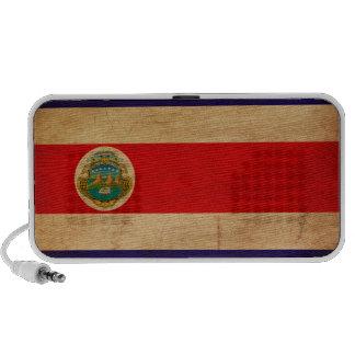 Costa Rica Flag Portable Speakers