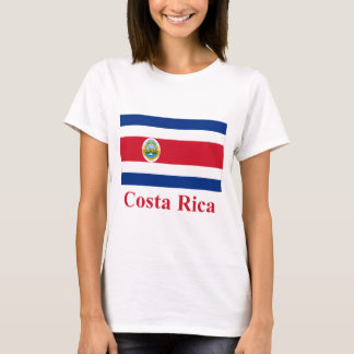 Costa Rica Flag with Name T-Shirt