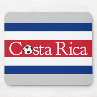 Costa Rica Football Mouse Pad