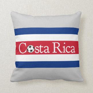 Costa Rica Football Throw Pillow