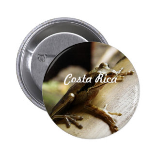 Costa Rica Frog Buttons