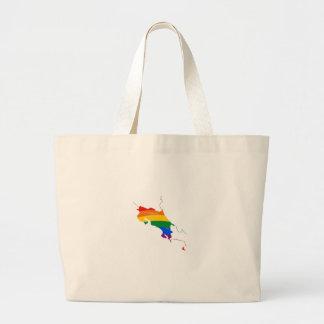 COSTA RICA GAY PRIDE TOTE BAG