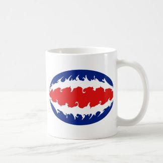 Costa Rica Gnarly Flag Mug