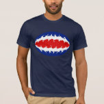 Costa Rica Gnarly Flag T-Shirt
