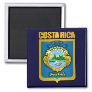 """Costa Rica Gold"" Gift Ideas Magnet"