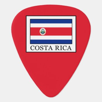Costa Rica Guitar Pick by KellyMagovern at Zazzle