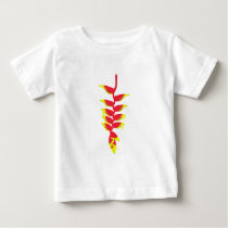 Costa Rica Heliconia Baby T-Shirt