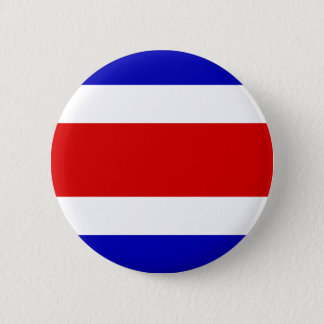 Costa Rica High quality Flag Button