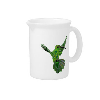 Costa Rica Hummingbird Beverage Pitchers