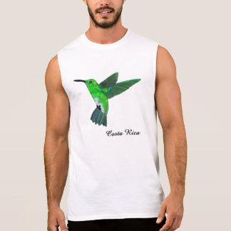 Costa Rica Hummingbird Sleeveless Shirts