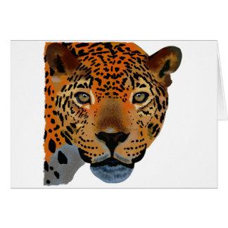 Costa Rica Jaguar Card