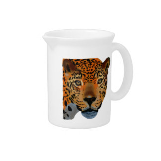 Costa Rica Jaguar Drink Pitcher