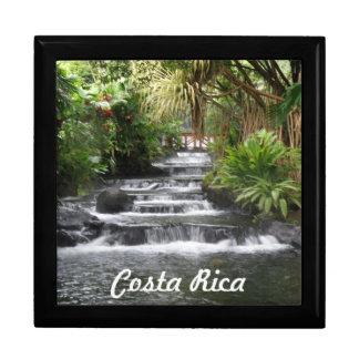 Costa Rica Joyero Cuadrado Grande