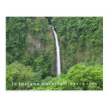 Costa Rica La Fortuna Waterfall Postcard