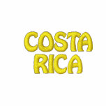 COSTA RICA Latin America Country Patriotic Embroidered Hooded Sweatshirts