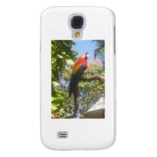 Costa Rica Macaw Galaxy S4 Case