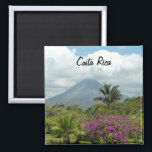 """Costa Rica Magnet<br><div class=""""desc"""">Photograph of the Arenal Volcano in Costa Rica</div>"""