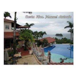 Costa Rica. Manuel Antonio Post Card