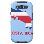 COSTA RICA MAP GALAXY S3 CASES