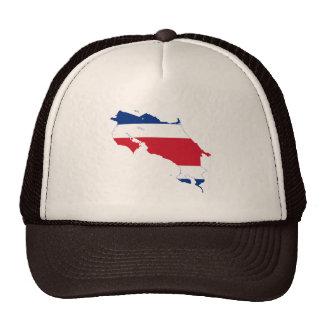 COSTA RICA MAP TRUCKER HATS