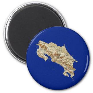 Costa Rica Map Magnet