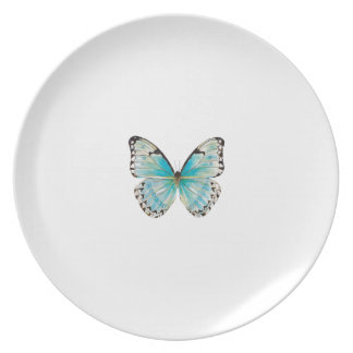 Costa Rica Medium Solitaire Butterfly Plate