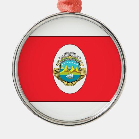 Costa Rica Metal Ornament