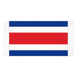 Costa Rica National Flag Card