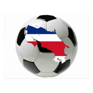 Costa Rica national team Postcard