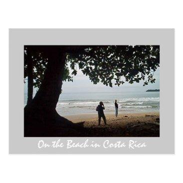Costa Rica on the Beach - Beautiful Cahuita Postcard