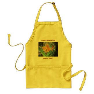 Costa Rica Orchids Adult Apron