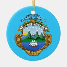 COSTA RICA * ornamento de encargo del navidad Adorno Para Reyes